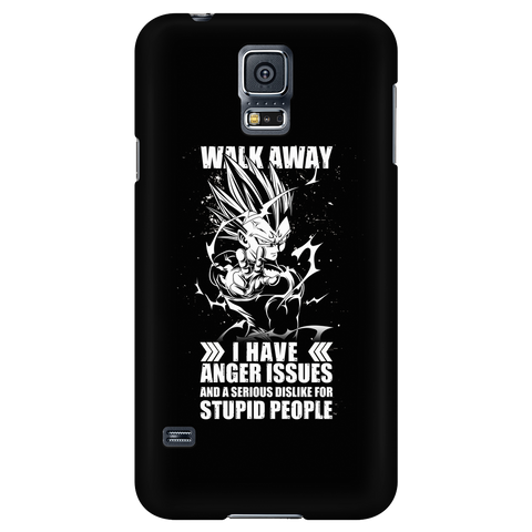 Super Saiyan - Walk away i have anger issues - Android Phone Case - TL01306AD