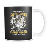 Super Saiyan I May Live in South Dakota 11oz Coffee Mug - TL00107M1