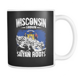 Super Saiyan I May Live in Wisconsin 11z Coffee Mug - TL00147M1