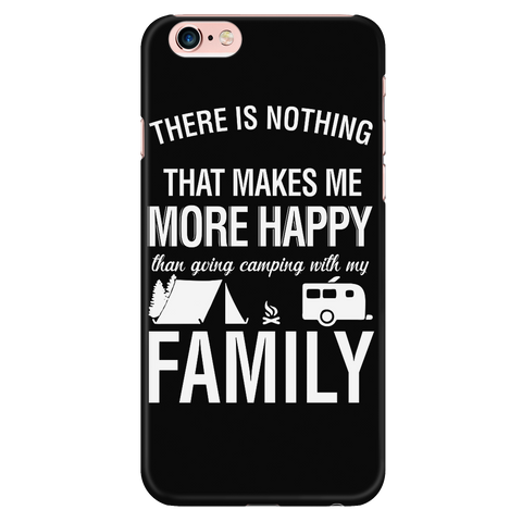 Camping - Going camping with my family - Iphone Phone Case - TL01330PC