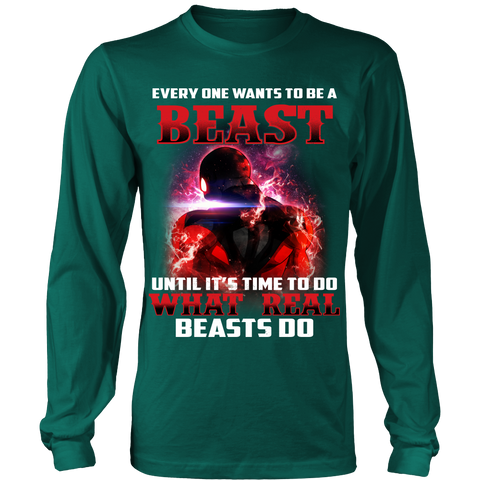 Dragon Ball Super - Jiren Everyone wants to be a beast - Unisex Long Sleeve - TL01489LS