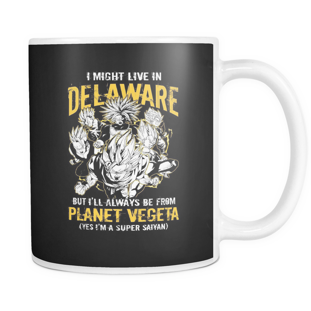 Super Saiyan Delaware 11oz Coffee Mug - TL00099M1