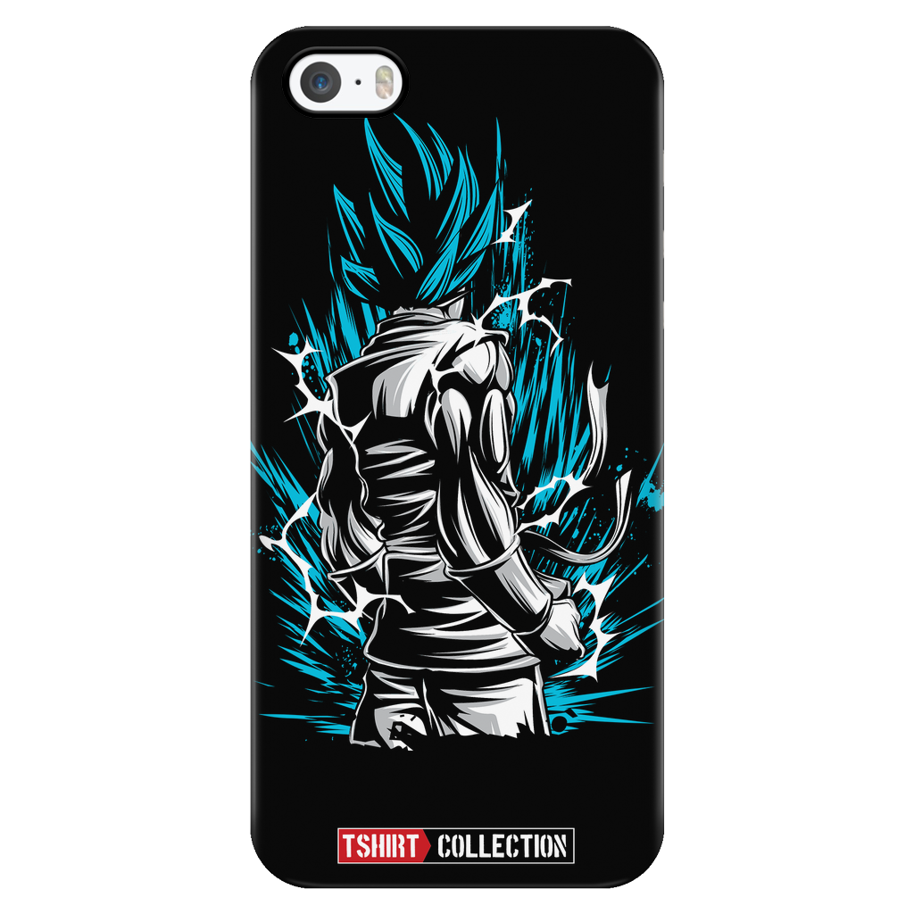 Super Saiyan Goku God Blue iPhone 5, 5s, 6, 6s, 6 plus, 6s plus phone case - TL00020PC-BLACK