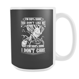 Super Saiyan Majin Vegeta Hate and Like 15oz Coffee Mug - TL00283M5