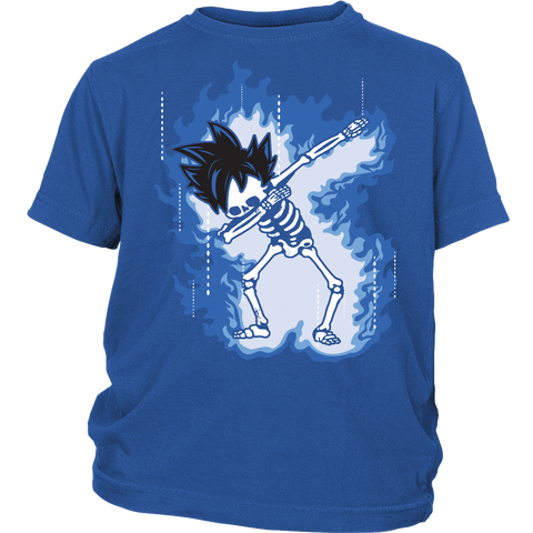 Super Saiyan - Goku Ultra Instinct Dab Skeleton X Ray Costume - Youth Shirt - TL01423YS