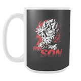 Super Saiyan Goten 15oz Coffee Mug- TL00487M5