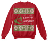 Christmas Sweatshirt – Let It Guard! - Unisex Sweatshirt - SSID2016
