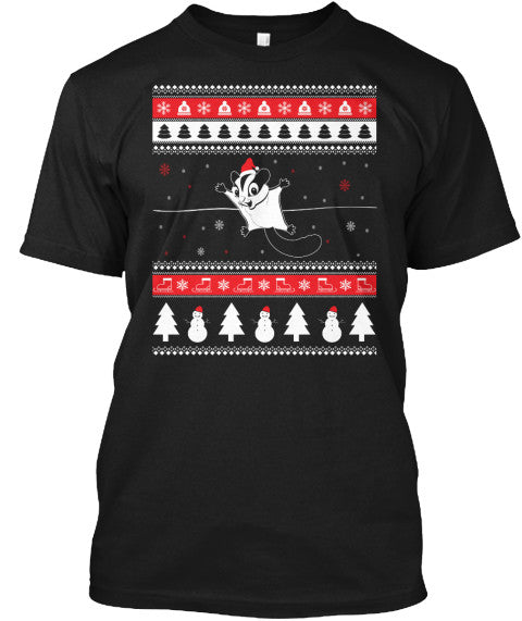 Christmas Short Sleeve- Sugar Glider -Men Short Sleeve - The TShirt Collection