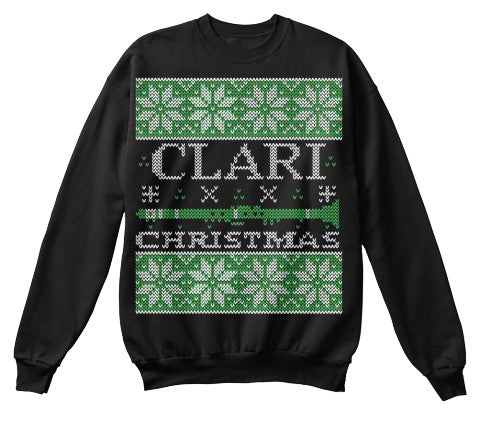 Christmas Sweatshirt – CLARI Christmas!! - Unisex Sweatshirt - The TShirt Collection