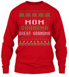 Christmas Long Sleeve – Great-Grandma Christmas - Unisex Long Sleeve - The TShirt Collection
