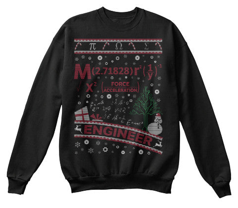 Christmas Sweatshirt- Engineering -Unisex Sweatshirt - The TShirt Collection