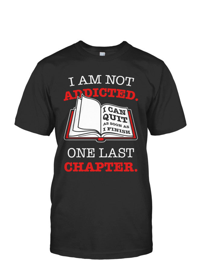 Book Short Sleeve - ONE LAST CHAPTER... -Men Short Sleeve T Shirt - The TShirt Collection
