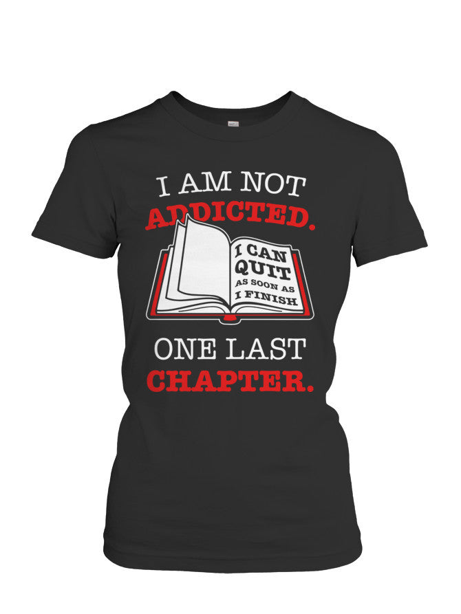 Book Short Sleeve - ONE LAST CHAPTER... -Women Short Sleeve T Shirt - The TShirt Collection