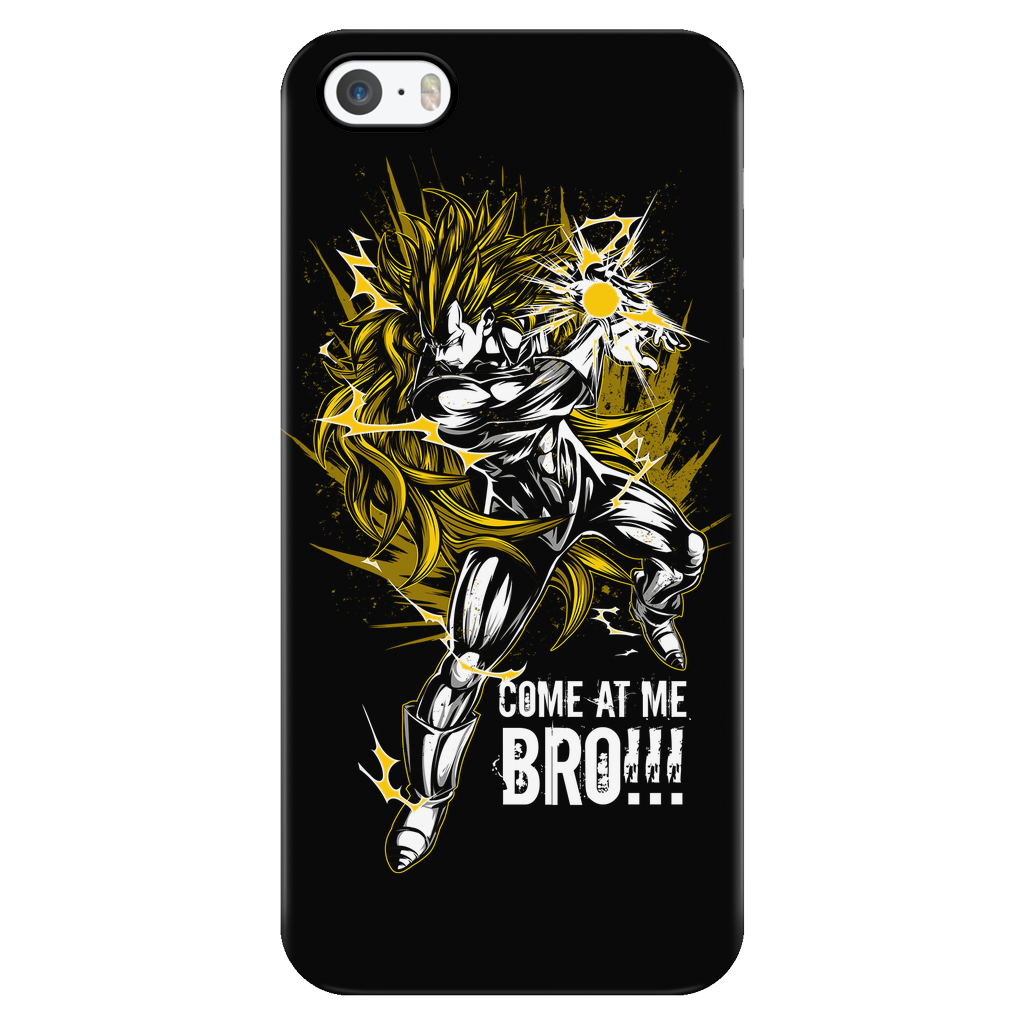 Super Saiyan Vegeta 3 iPhone 5, 5s, 6, 6s, 6 plus, 6s plus phone case - TL00122PC-BLACK