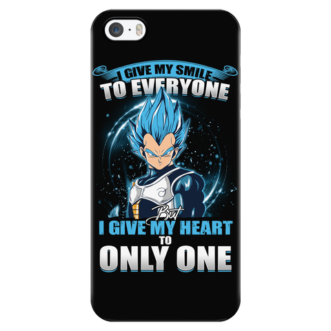 Super Saiyan - Vegeta SSj Blue Smile - Iphone Phone Case - TL01169PC