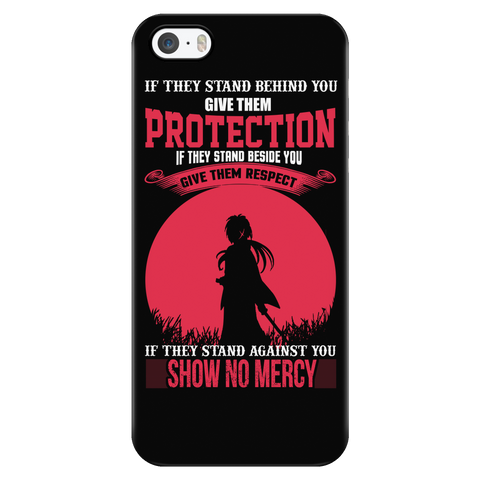 Rurouni Kenshin - If They Stand Against You, Show No Mercy - Iphone Phone Case - TL01078PC
