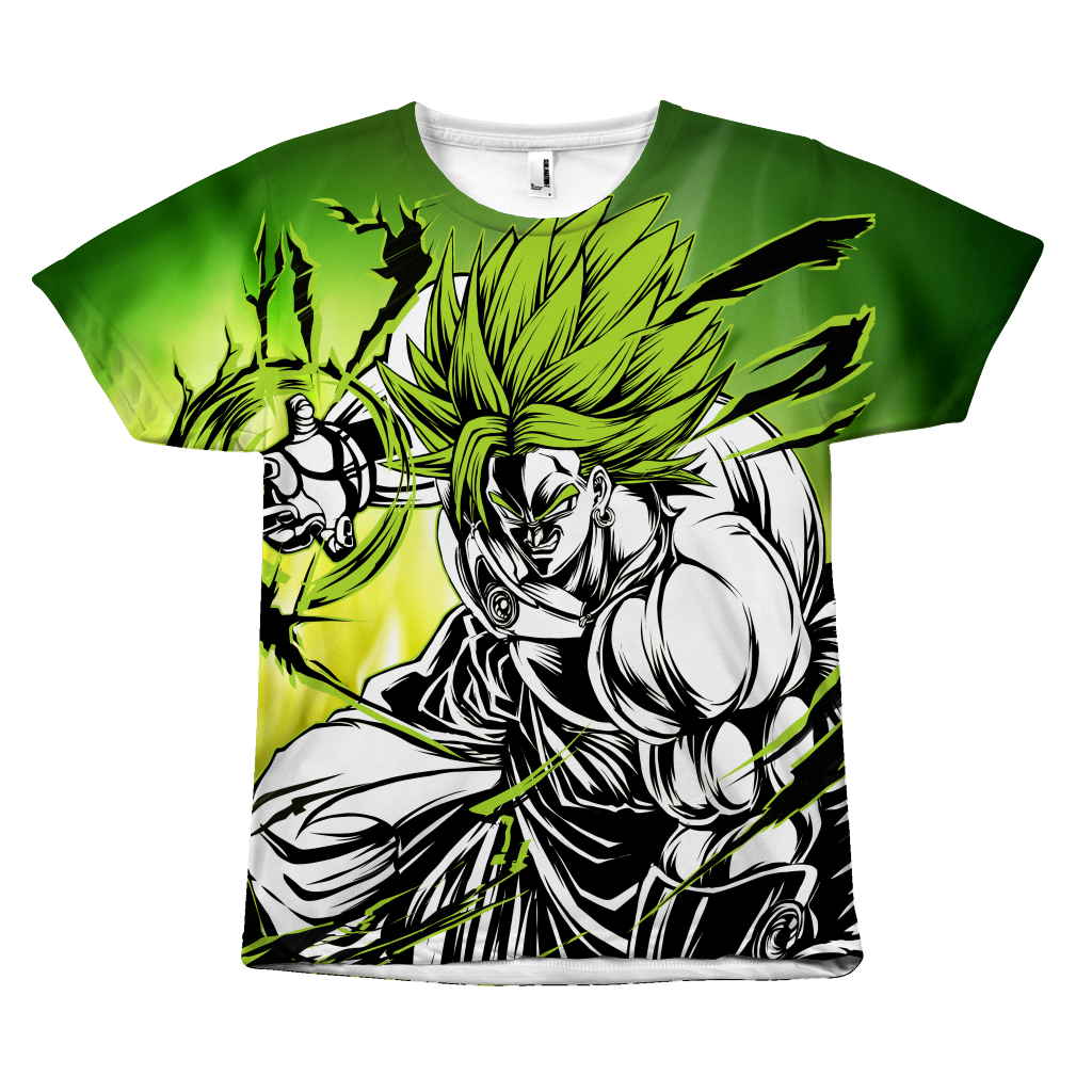 Super Saiyan - Broly - All Over Print T Shirt - TL00983AO