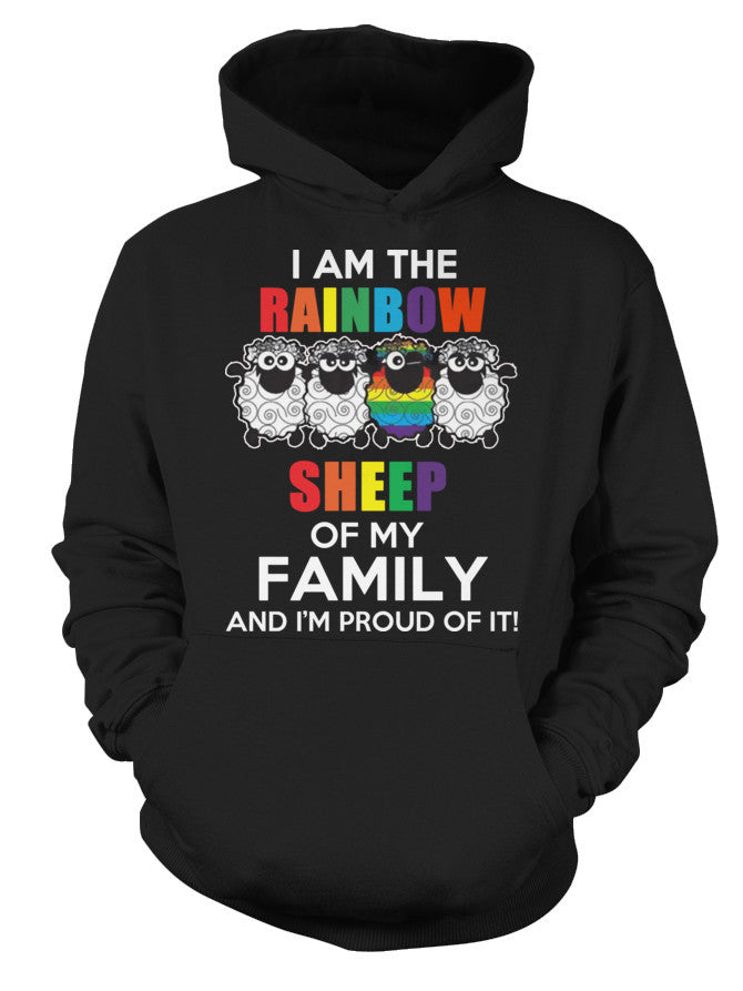 LGBT- I am the rainbow sheep -Unisex Hoodie - SSID2016