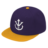 Super Saiyan White Vegeta Crest Snapback - PF00190SB - The Tshirt Collection - 9