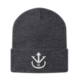 Super Saiyan Vegeta Crest Beanie White - PF00198BN - The Tshirt Collection - 3