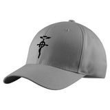Fullmetal Alchemist Black SymBol Structured Twill Cap - PF00334TC - The TShirt Collection