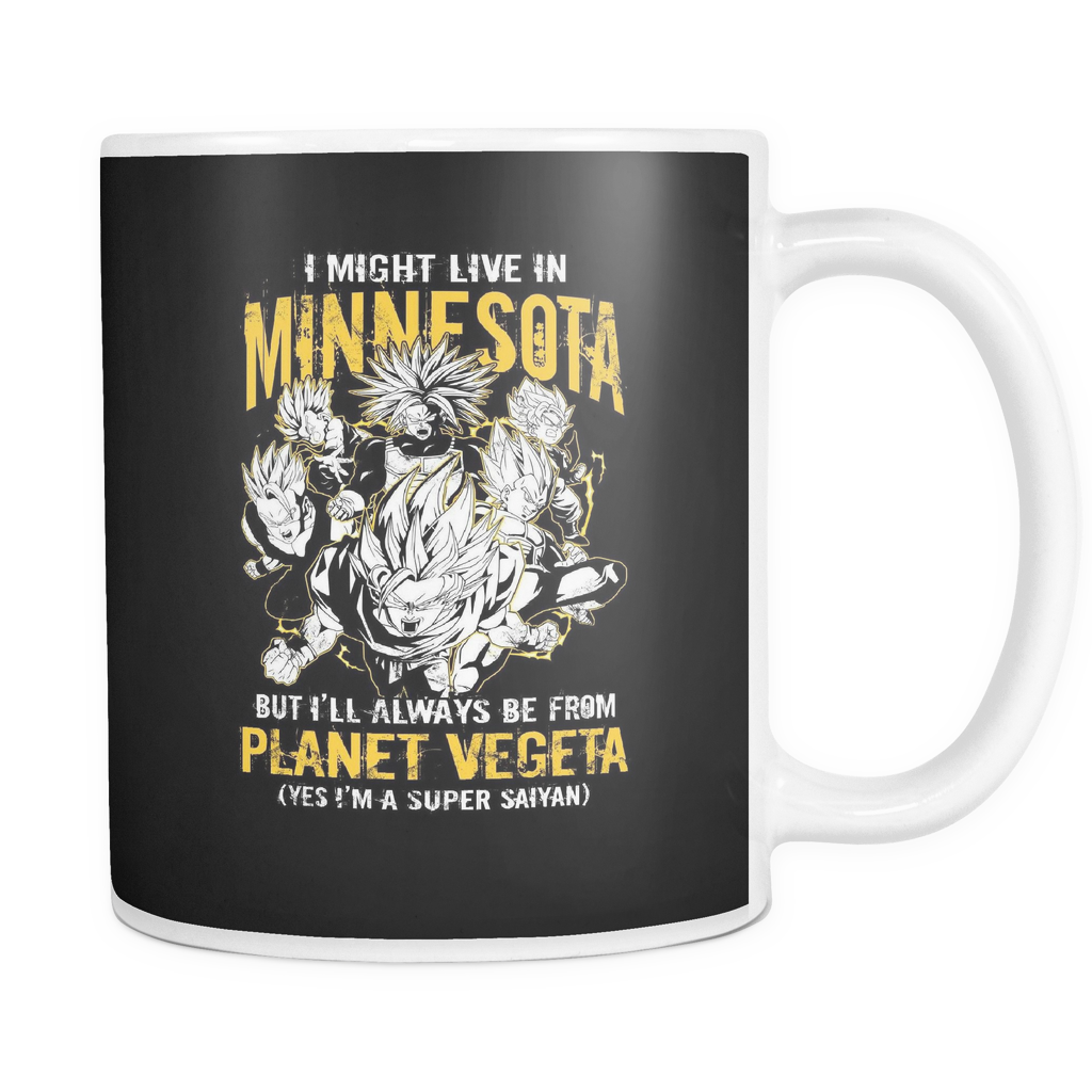 Super Saiyan I May Live in Minnesota 11oz Coffee Mug - TL00085M1