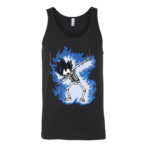 Super Saiyan - Goku Ultra Instinct Dab Skeleton X Ray Costume - Unisex Tank Top - TL01423TT