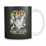 Super Saiyan Alaska 11oz Coffee Mug - TL00100M1