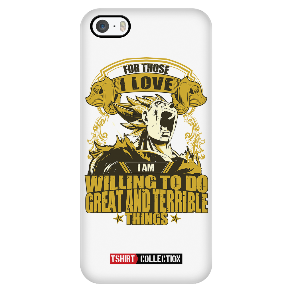 Super Saiyan Majin Vegeta can do great and terrible things Iphone Case - TL00556PC