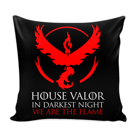 "Pokemon house valor in darkness night we are the flame Pillow Cover 16"" - TL00628PL"