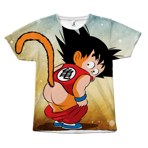 Super Saiyan - Goku Kid - All Over Print T Shirt - TL00981AO