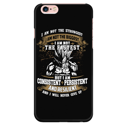 Super Saiyan - I m Not The Strongest , I m Not The Biggest , I m Not The Fastest - Iphone Phone Case - TL01281PC