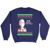 One Punch Man - OK Merry Christmas - Unisex Sweatshirt T Shirt - TL01403SW