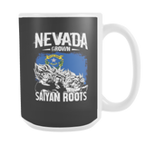 Super Saiyan Nevada Grown Saiyan Roots 15oz Coffee Mug - TL00155M5