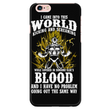 Super Saiyan Vegeta iPhone 5, 5s, 6, 6s, 6 plus, 6s plus phone case - TL00131PC-BLACK