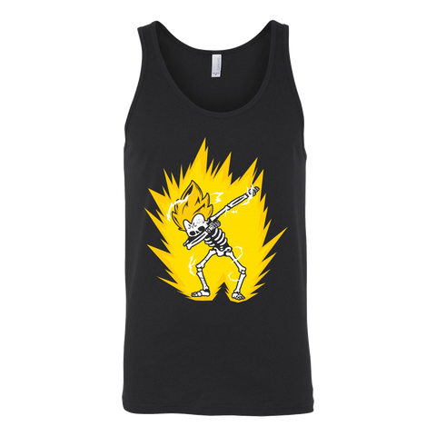 Super Saiyan - Majin Vegeta Dab Skeleton X Ray Costume - Unisex Tank Top - TL01422TT