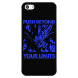 Super Saiyan Majin Vegeta push limits iPhone 5, 5s, 6, 6s, 6 plus, 6s plus phone case - TL00225PC-BLACK