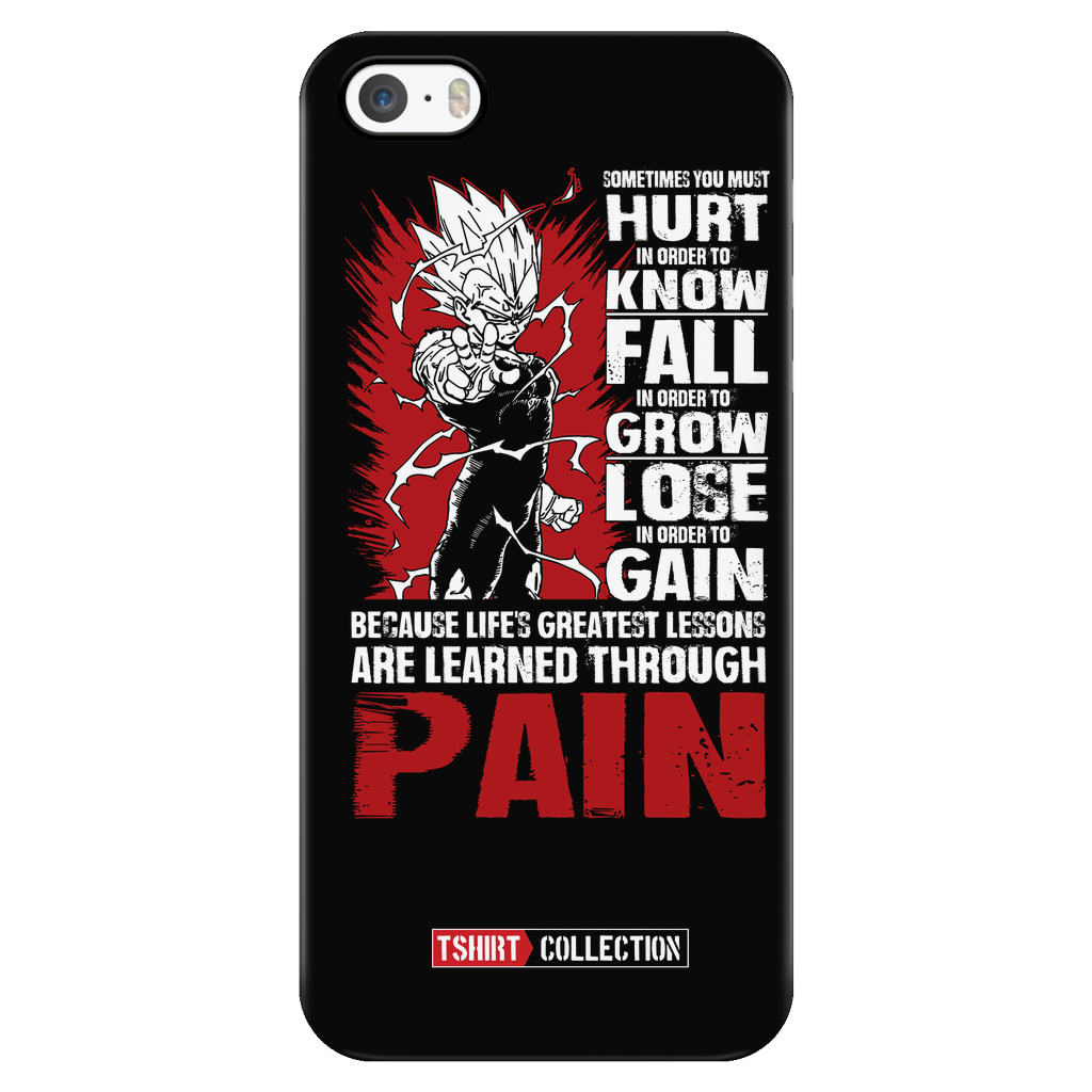 Super Saiyan Majin Vegeta iPhone 5, 5s, 6, 6s, 6 plus, 6s plus phone case - TL00059PC-BLACK