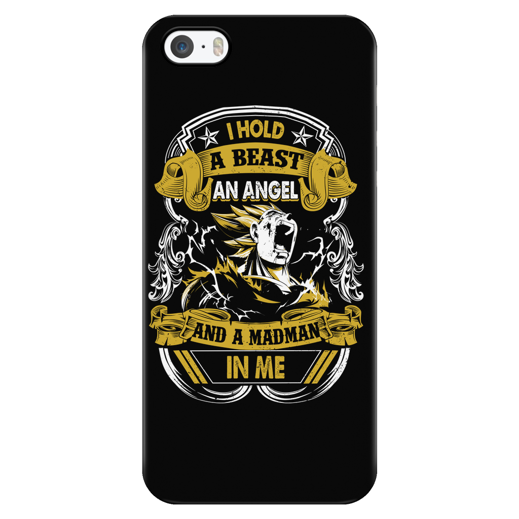 Super Saiyan Majin Vegeta Beast iPhone 5, 5s, 6, 6s, 6 plus, 6s plus phone case - TL00121PC-BLACK