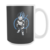 Super Saiyan Blue Vegeta God 15oz Coffee Mug - TL00016M5