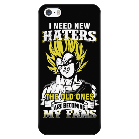Super Saiyan - I need new haters the old ones are becoming my fan - Iphone Phone Case - TL01194PC