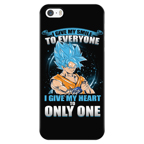 Super Saiyan - Goku SSj Blue Smiles - Iphone Phone Case - TL01172PC