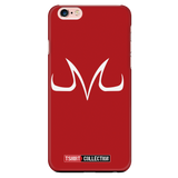Super Saiyan Majin Symbol iPhone 5, 5s, 6, 6s, 6 plus, 6s plus phone case - TL00050PC-RED