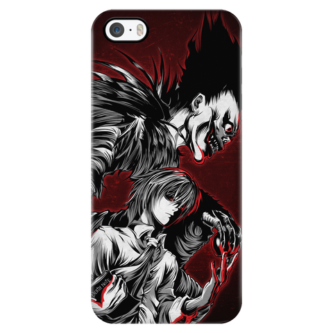 Death Note - Kira and Ryuk - Iphone Phone Case - TL00910PC