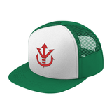 Super Saiyan Red Vegeta Crest Trucker Hat - PF00188TH - The Tshirt Collection - 4