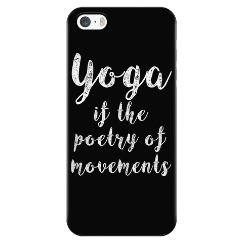 Yoga - Yoga if the poetry of movements - Iphone Phone Case - TL00894PC