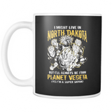 Super Saiyan I May Live in North Dakota Group 11oz Coffee Mug - TL00104M1
