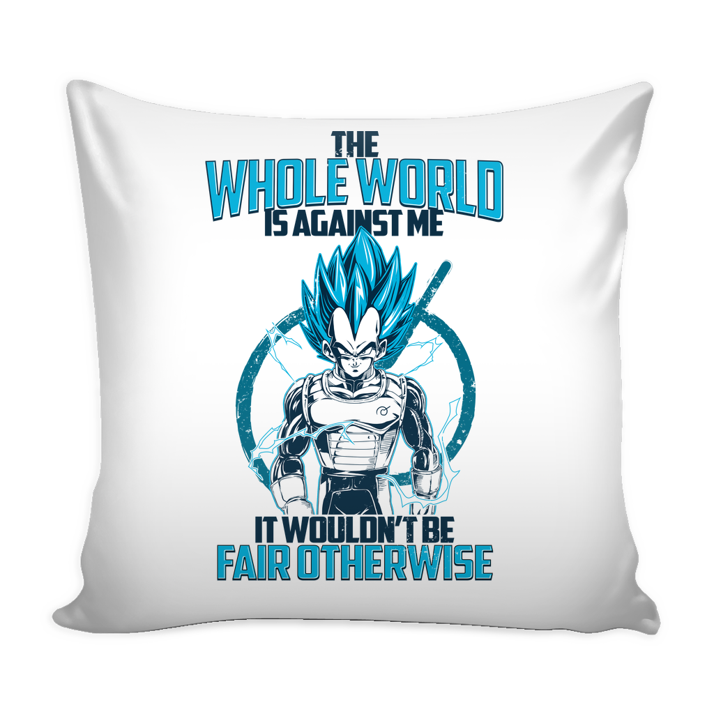 "Super Saiyan Vegeta God Fair Otherwise Pillow Cover 16"" - TL00552PL"