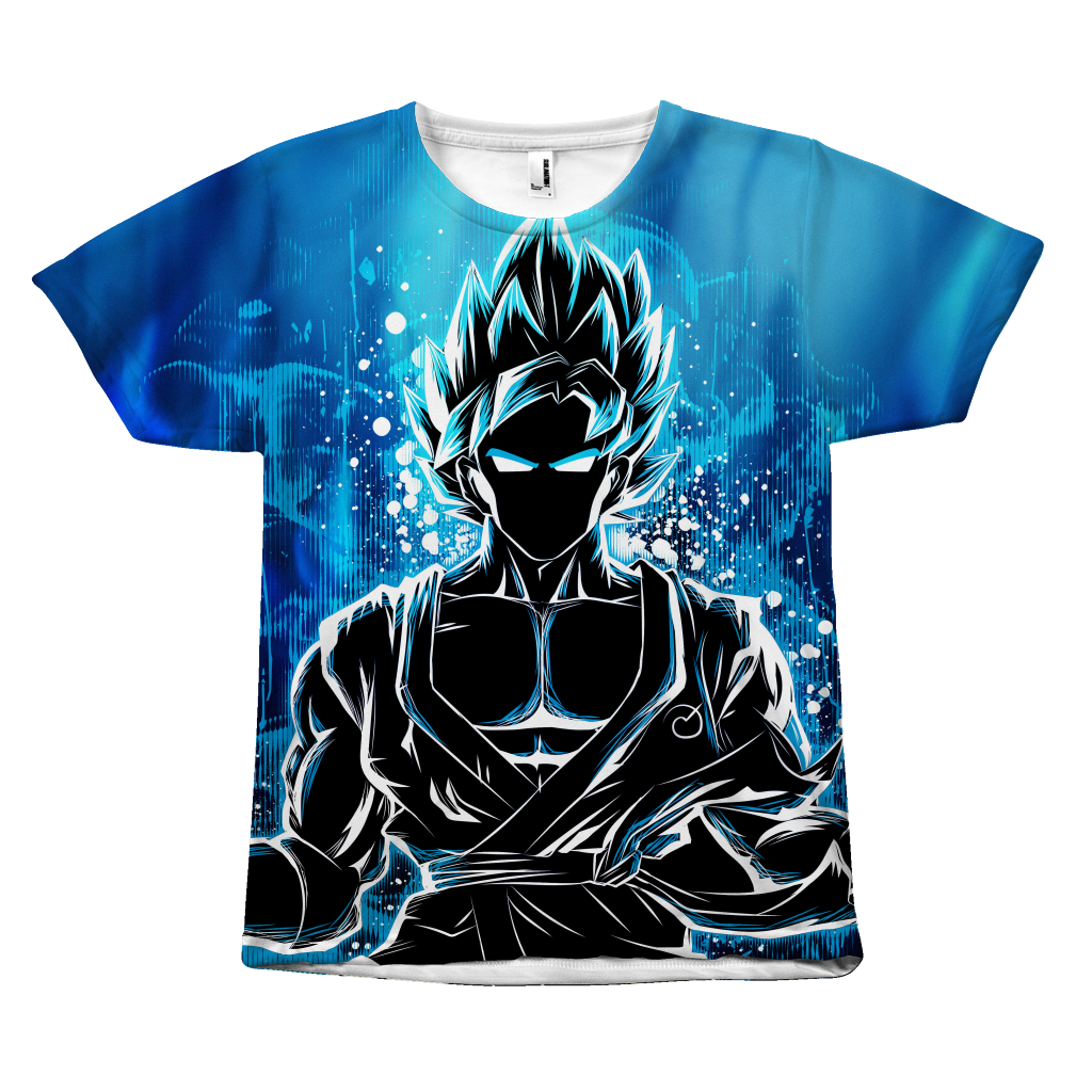 b40a2e6f29f Super Saiyan - Goku Ssj God Blue - All Over Print T Shirt - TL00942AO