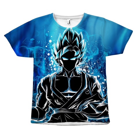 Super Saiyan - Goku Ssj God Blue - All Over Print T Shirt - TL00942AO